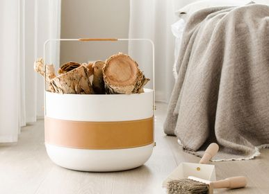 Design objects - Basket Emma - Blanc - ELDVARM