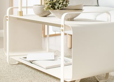 Design objects - Bench Ninne - Blanc - ELDVARM