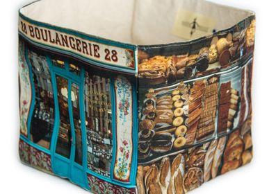 Homeweartextile - Boite en tissu Boulangerie 28 - MARON BOUILLIE