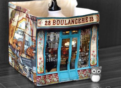 Homewear - Bakery 28 fabric box - MARON BOUILLIE