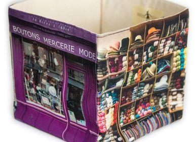 "Homewear - Storage box Haberdashery ""Au mètre à ruban"" - MARON BOUILLIE"