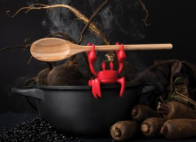 Design objects - Red - spoon holder crab - PA DESIGN