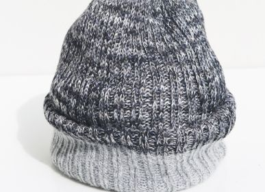 Hats - Reversible Knitted Hats - INES MENACHO