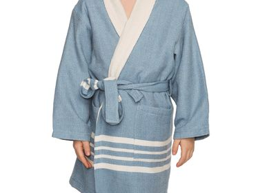 Bath - KIDS BATHROBE KIDDO TERRY LINING COTTON HANDLOOMED - LALAY