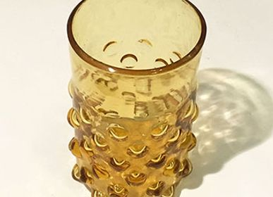 Glass - 1920s Glass - Bumpy Straight glass - SALAHEDDIN