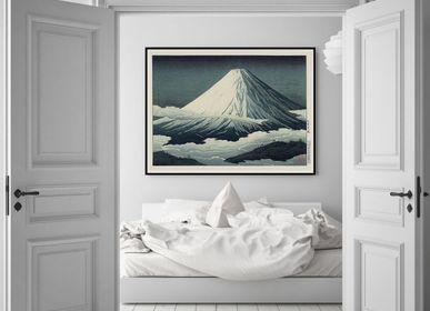 Affiches - Affiche Ukiyo-e, Mount Fuji. - THE DYBDAHL CO.