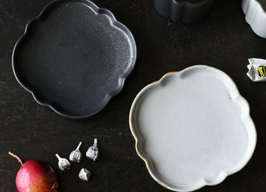 Platter and bowls - Veillée cup and plate - MARUMITSU POTERIE