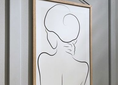 Affiches - Impression d'art Embracing Silhouette - METTEHANDBERG ART PRINTS