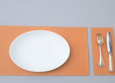 Decorative objects - LEATHER PLACEMATS STAINLESS TREATED - MIDIPY