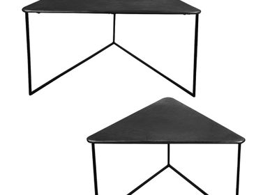 Tables basses - Set de 2 tables triangles - TABLE PASSION - BASTIDE