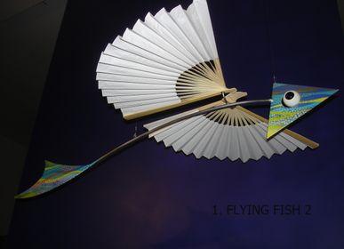Sculpture - Poisson volant - BOURDIER JEAN PLASTICIEN