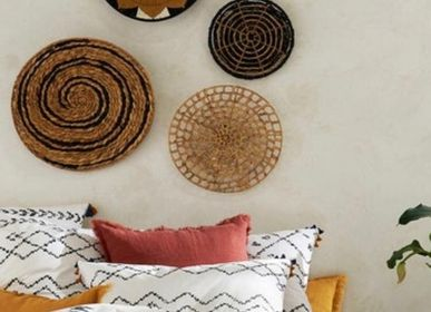 Wall decoration - African basket or wall decoration or bowl wall baskets or baskets - SUBLIME JUJU HAT