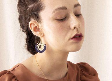 Bijoux - boucles d'oreilles n.2 ANDROMEDE - PEAU DE FLEUR