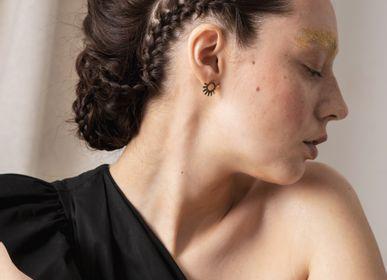 Bijoux - boucles d'oreilles - clous n.6 ELECTRA - PEAU DE FLEUR