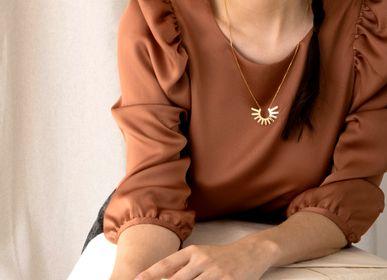 Bijoux - collier n.5 GORGONA - PEAU DE FLEUR