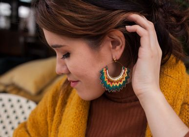 Bijoux - Boucles d'oreilles MARIA - NAHUA