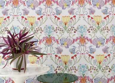 Hotel bedrooms - The Grandma's Garden _ Wallcovering - FRANCESCA COLOMBO