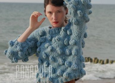 Apparel - Bubble Alpaca Sweater - PANAPUFA