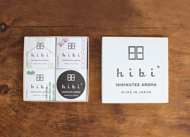 Home fragrances - A gift box of 3 Japanese fragrances - HIBI