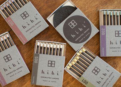 Parfums d'intérieur - Un coffret cadeau de 5 parfums - HIBI