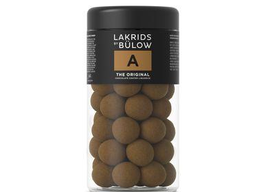 Confiserie - A – THE ORIGINAL CHOCOLATE COATED LIQUORICE - LAKRIDS BY BÜLOW