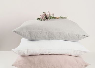 Bed linens - Mira washed linen pillow cover - PIMLICO