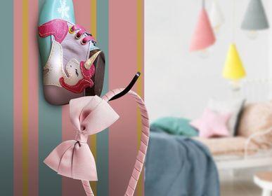 Christmas decoration - Creative Handmade Hangers Baby Boots  - GILDE SCARTI E MESTIERI