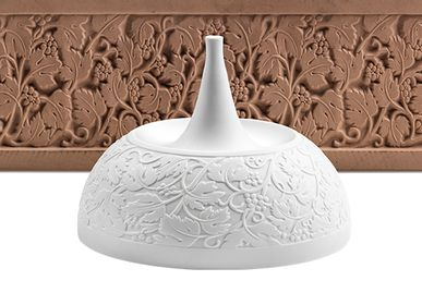 Formal plates - Bespoke porcelain |Hotel-Restaurant LALIQUE - Château Lafaurie-Peyrag - PORZELLANMANUFAKTUR FUERSTENBERG