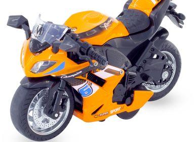 Jouets - MINIATURE : MOTO SPORTIVE - ULYSSE COULEURS D'ENFANCE
