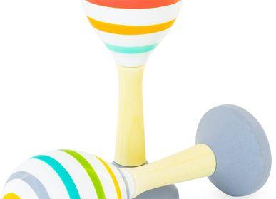 Toys - MARACAS: MULTI-COLOR - ULYSSE COULEURS D'ENFANCE