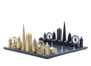 Objets design - Bronze massif de luxe London Edition - SKYLINE CHESS LTD
