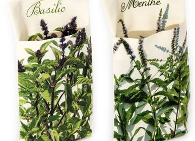 Outdoor decorative accessories - Herbs wall Pouches - MARON BOUILLIE