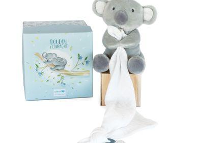 Soft toy - UNICEF - DOLL WITH DOUDOU dummy holder — Koala - DOUDOU ET COMPAGNIE