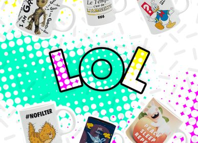 Mugs - LOL COLLECTION - THE GOOD GIFT