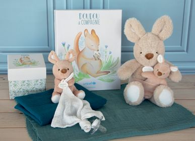 Soft toy - UNICEF BEBE & ME - Kangaroo - DOUDOU ET COMPAGNIE
