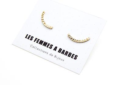 Jewelry - STREAK Studs - LES FEMMES À BARBES