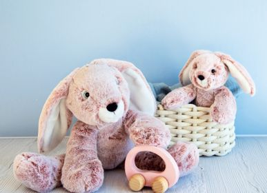 Soft toy - SWEETY MOUSSE PM - Rabbit - HISTOIRE D'OURS