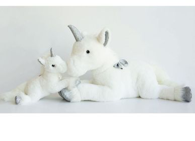 Soft toy - ELONGATED UNICORN 100 cm - HISTOIRE D'OURS
