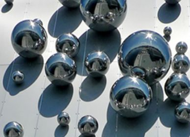 Decorative objects - STAINLESS STEEL BALLS - FUORILUOGO CHROME DESIGN