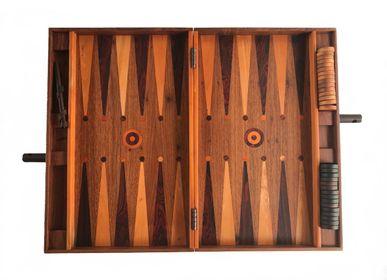Pièces uniques - Jeu de collection à la main Backgammon - WOLOCH COMPANY