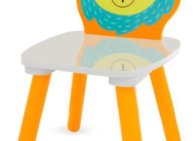 Tables and chairs for children - SAFARI CHAIR: LION - ULYSSE COULEURS D'ENFANCE