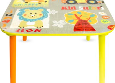 Children's tables and chairs - TABLE: SAFARI - ULYSSE COULEURS D'ENFANCE