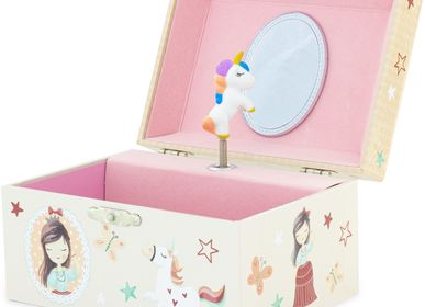 Children's bedrooms - MUSICAL BOX UNICORN - ULYSSE COULEURS D'ENFANCE