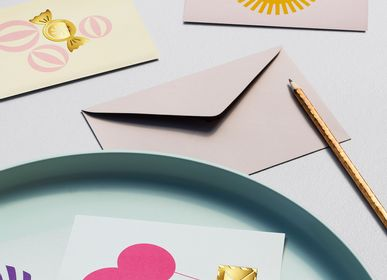 Stationery - Multi-use clip Greeting Cards - OCTAEVO