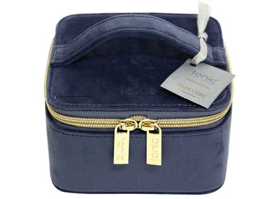 Bags and totes - Tonic Luxe Velvet Jewellery Cube  - TONIC AUSTRALIA