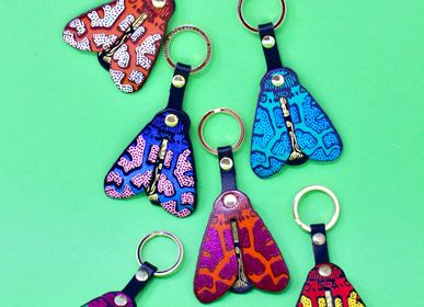 Leather goods - Double Layer Key Fobs - ARK COLOUR DESIGN