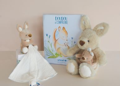 Soft toy - UNICEF - Baby and Me - Doll - kangaroo - DOUDOU ET COMPAGNIE