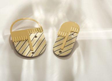 Jewelry - FANCHON & FANTINE brooch - PEAU DE FLEUR