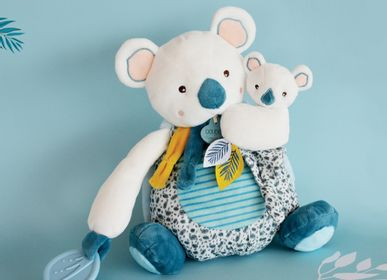 Soft toy - YOCA LE KOALA - Doll GM with baby and teething ring - DOUDOU ET COMPAGNIE