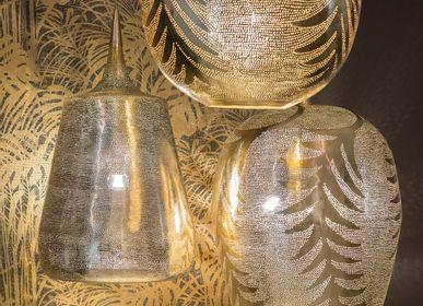Suspensions - Lampes pendantes dorées - ZENZA